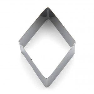 Diamond mini cookie cutter