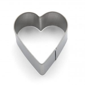 Heart mini cookie cutter