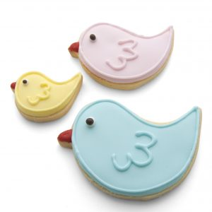 Set of 3 Birds cookie cutters