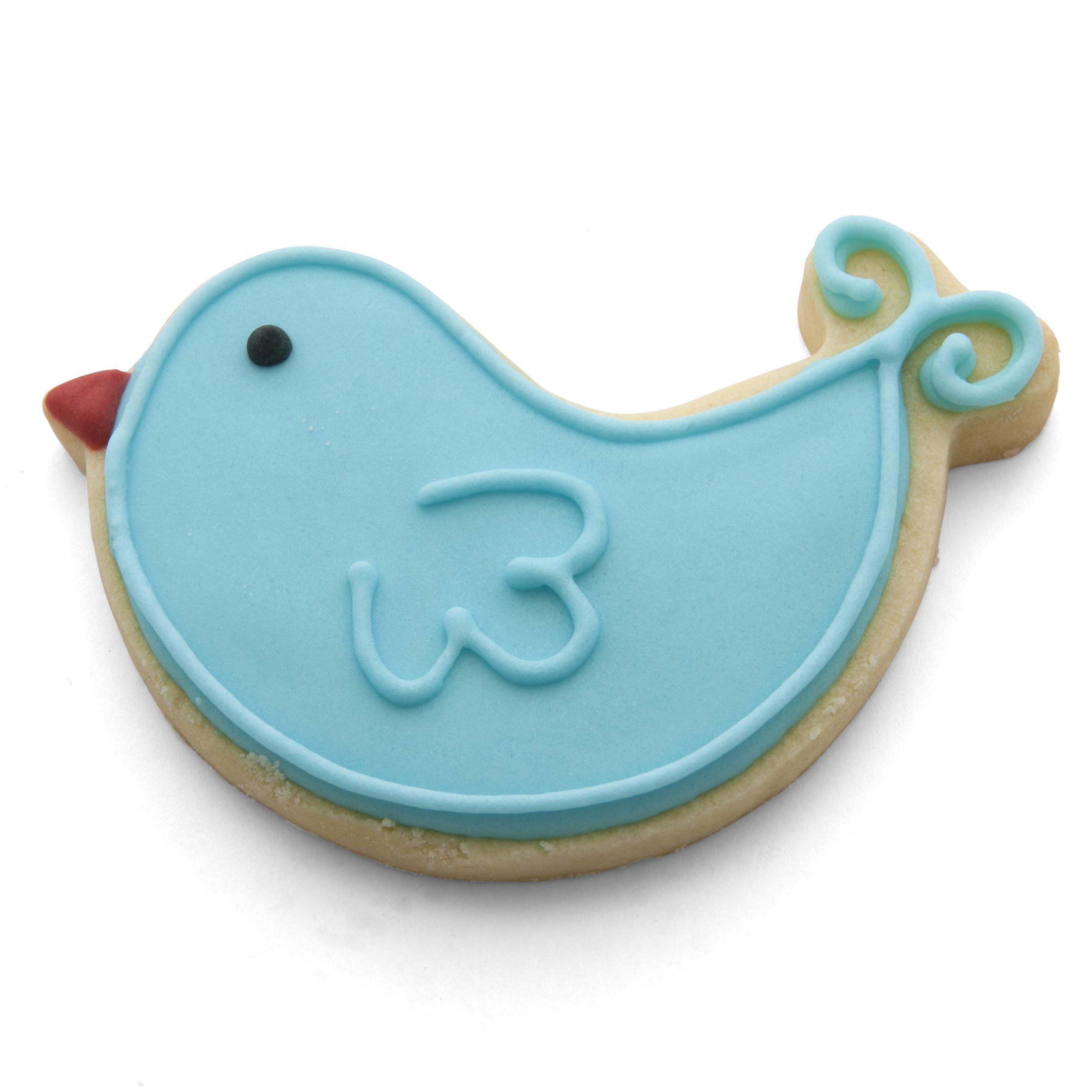 bird loop tail cookie cutter
