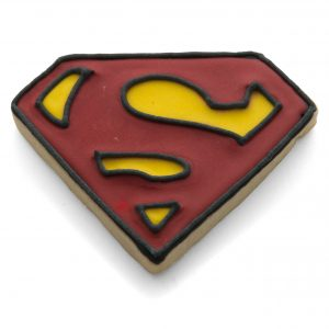 Superman symbol cookie cutter