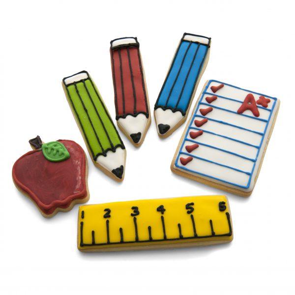 Teacher cookie cutter set