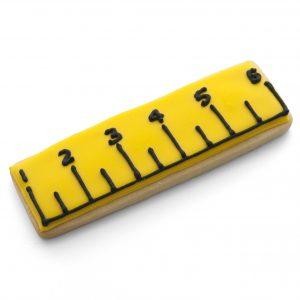Rectangle ruler cookie cutter
