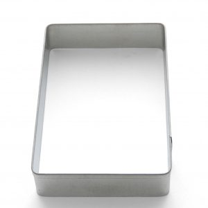 Rectangle notepad cookie cutter
