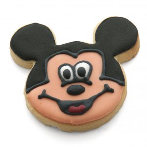 Mickey face cookie cutter