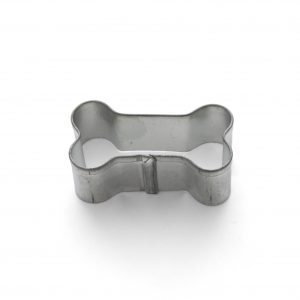 Small dog bone cookie cutter