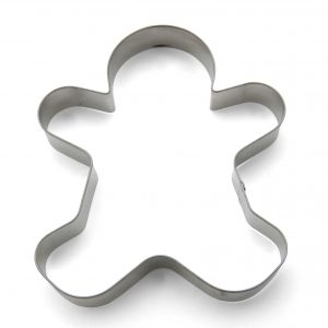 Giant gingerbread man cookie cutter