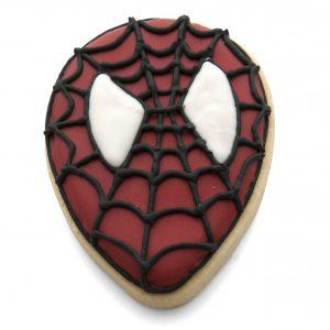 Medium spiderman face cookie cutter