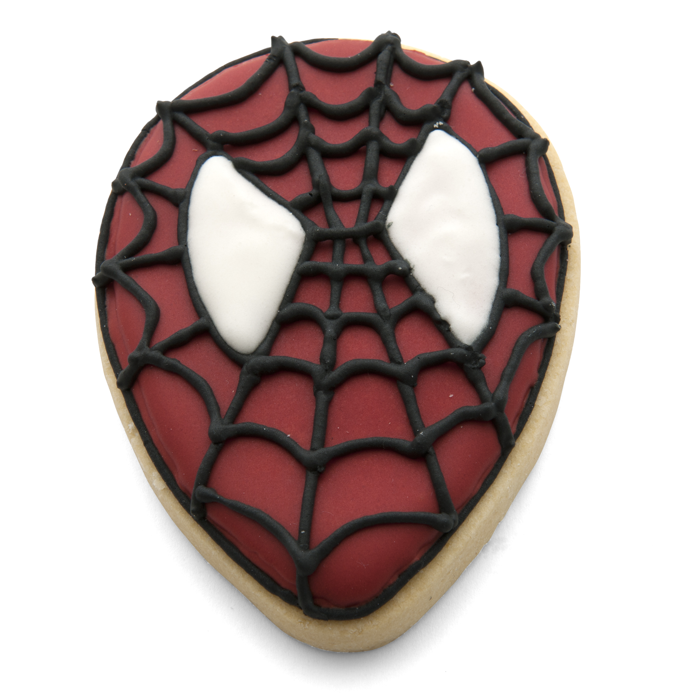 Spiderman face cookie cutter set
