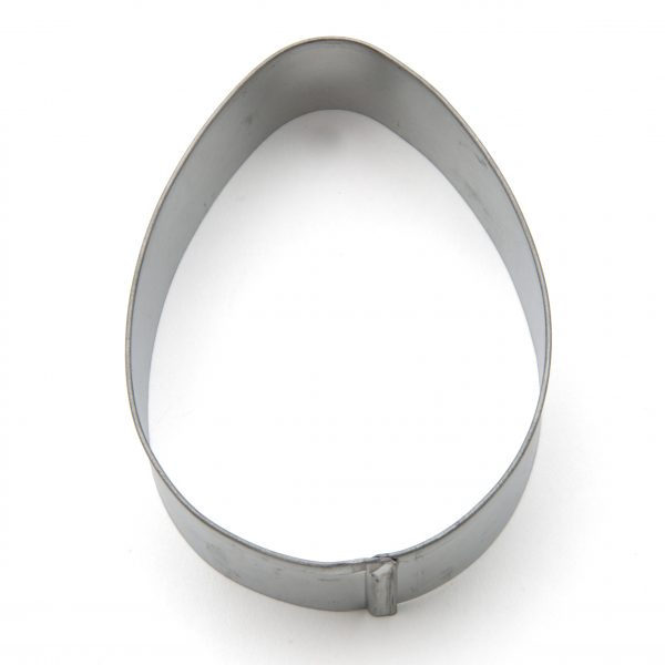 Large egg cookie cutter