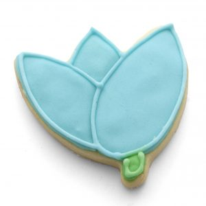 Tulip cookie cutter