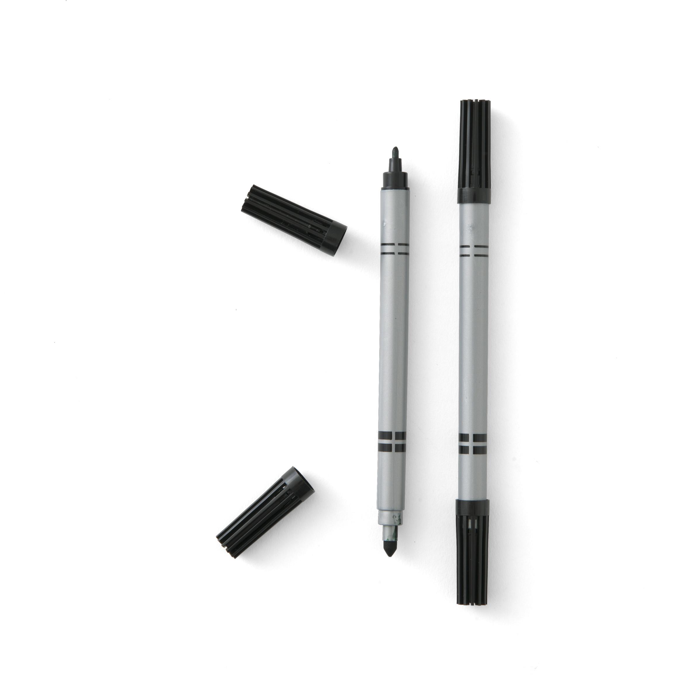 Black food grade pen