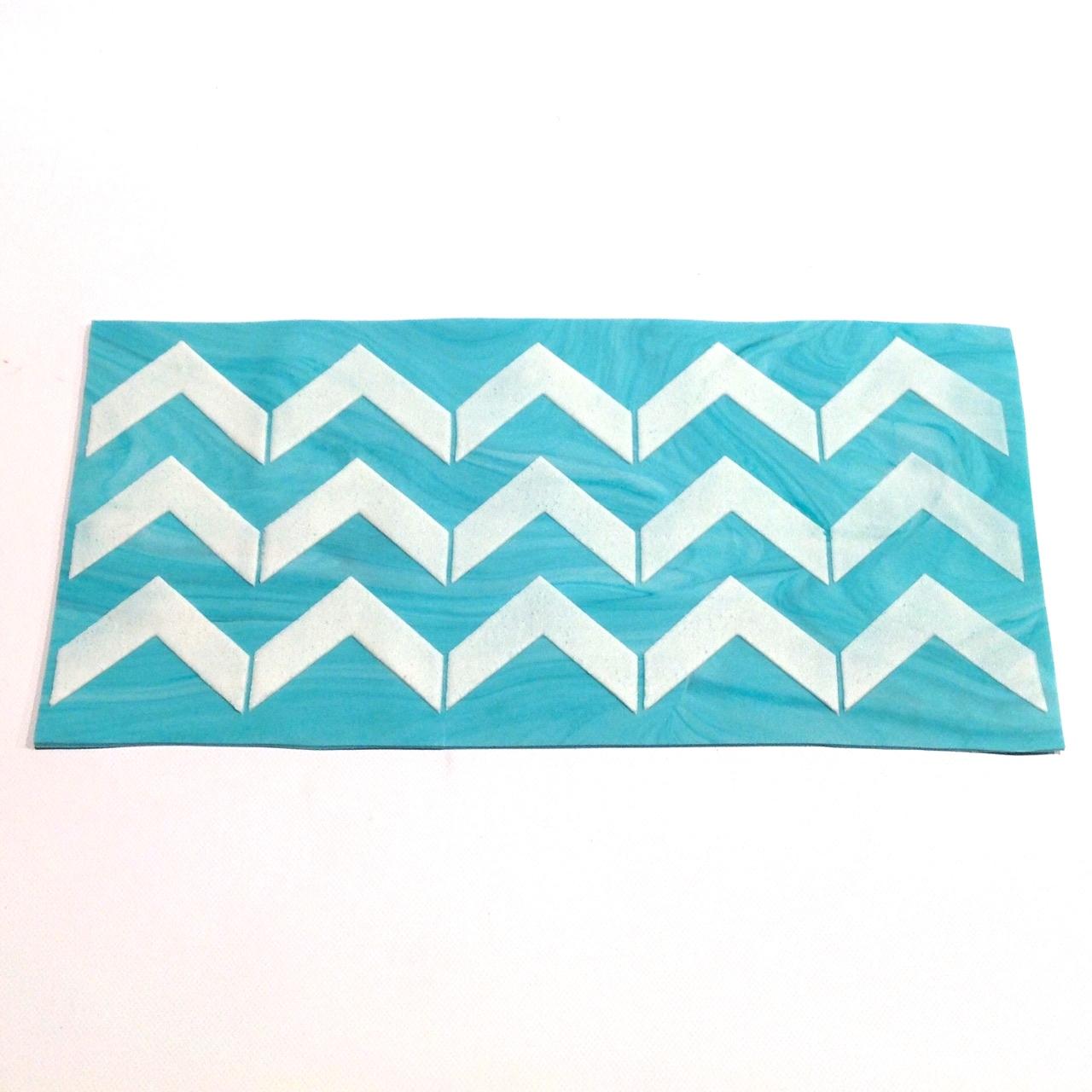 chevron pattern template printable - HD1280×1280