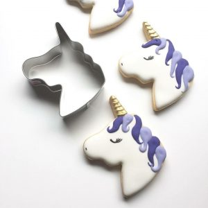 Unicorn Horse Head Cookie Cutter Cuttercraft