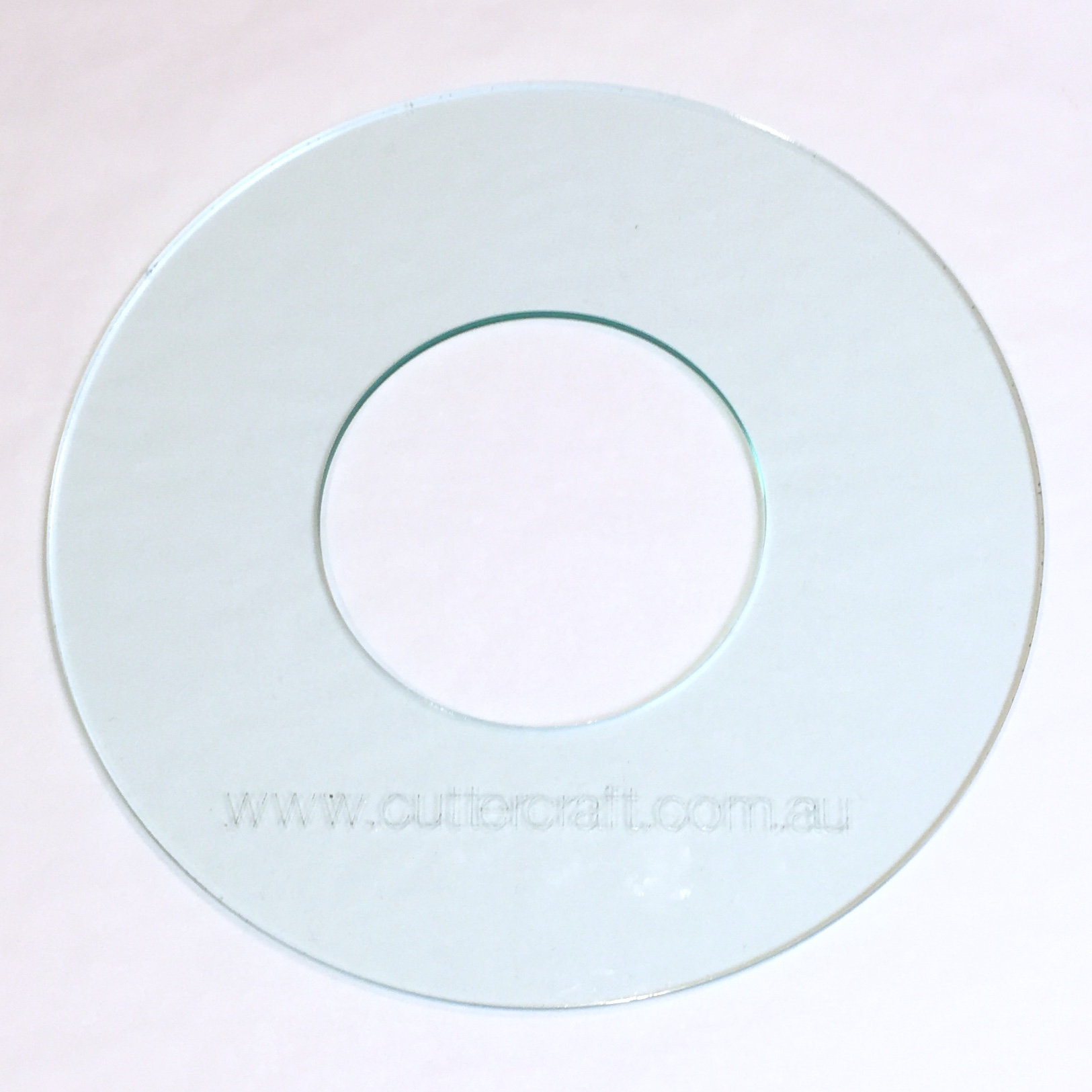 round circle donut acrylic large template 20cm