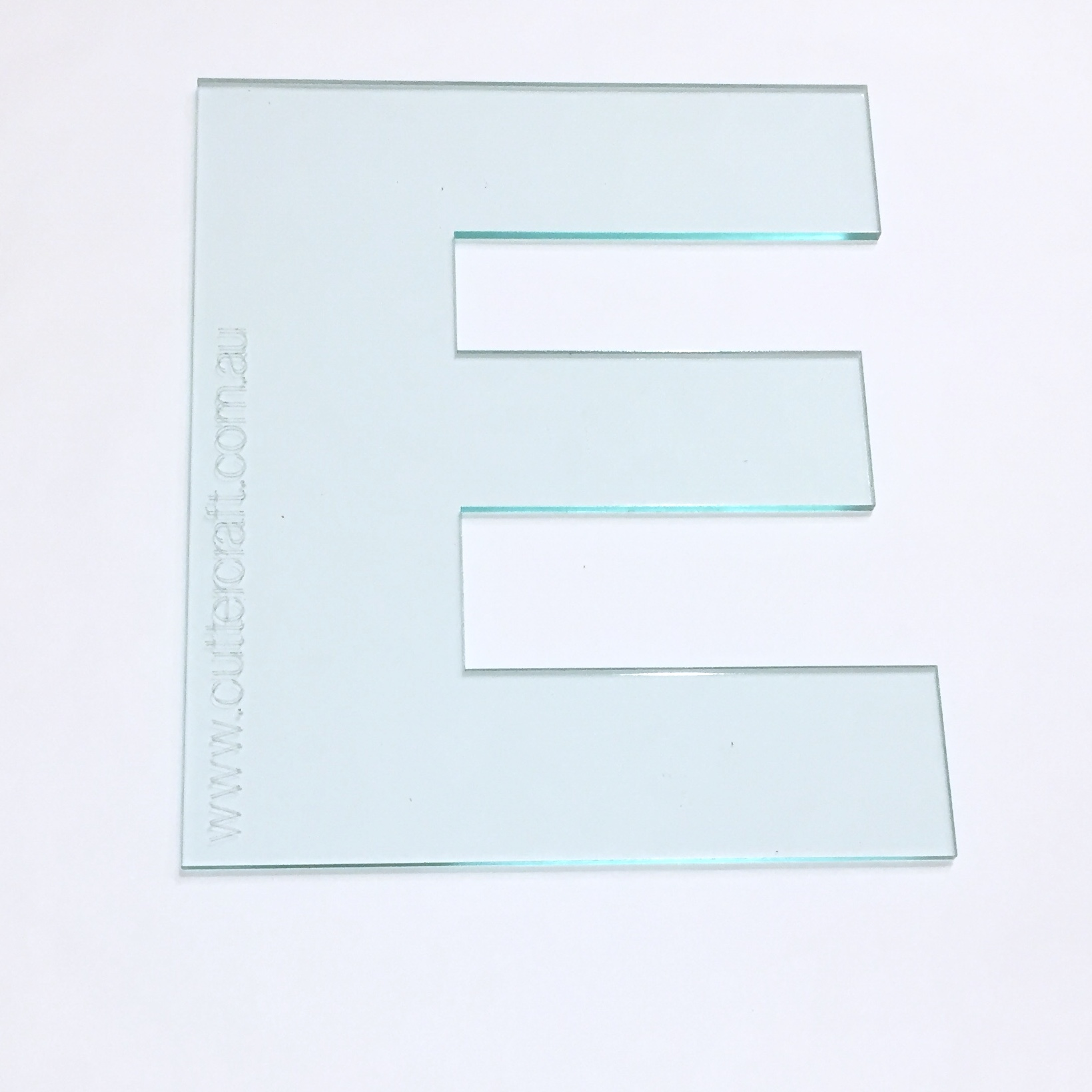 Letter e acrylic large template 29cm high wide font cuttercraft zoom spiritdancerdesigns Image collections
