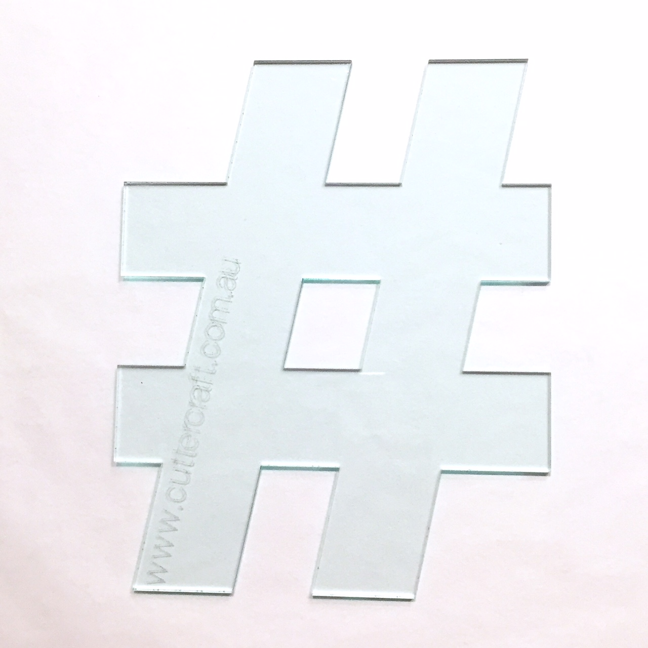 29cm high wide hashtag symbol large templates