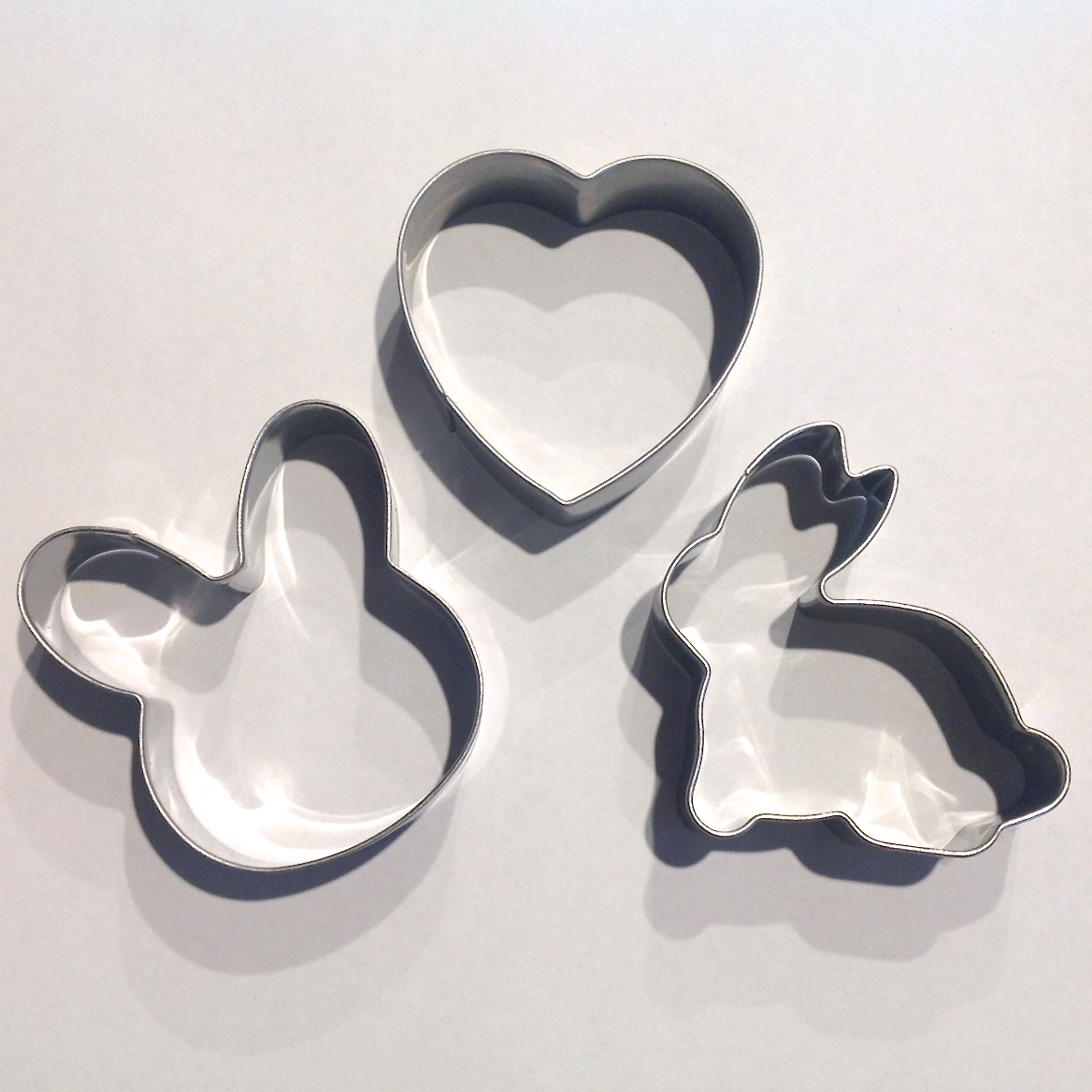 Easter Rabbit Small Cookie Cutter Set Cuttercraft
