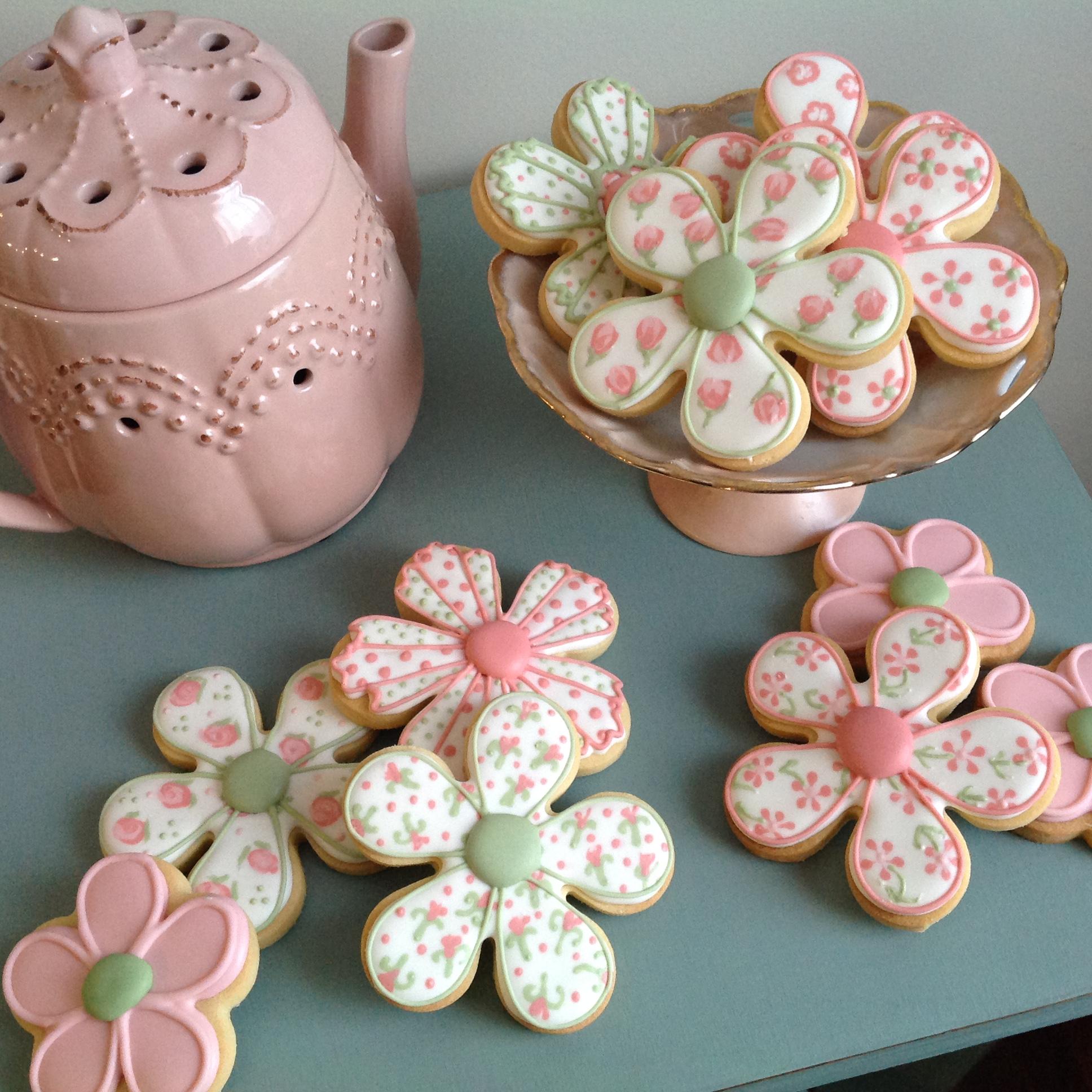 6 Petal Daisy Flower Cookie Cutter Handmade Cuttercraft
