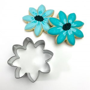 SS491 Cookie Cutter 8 petal flower ss 2