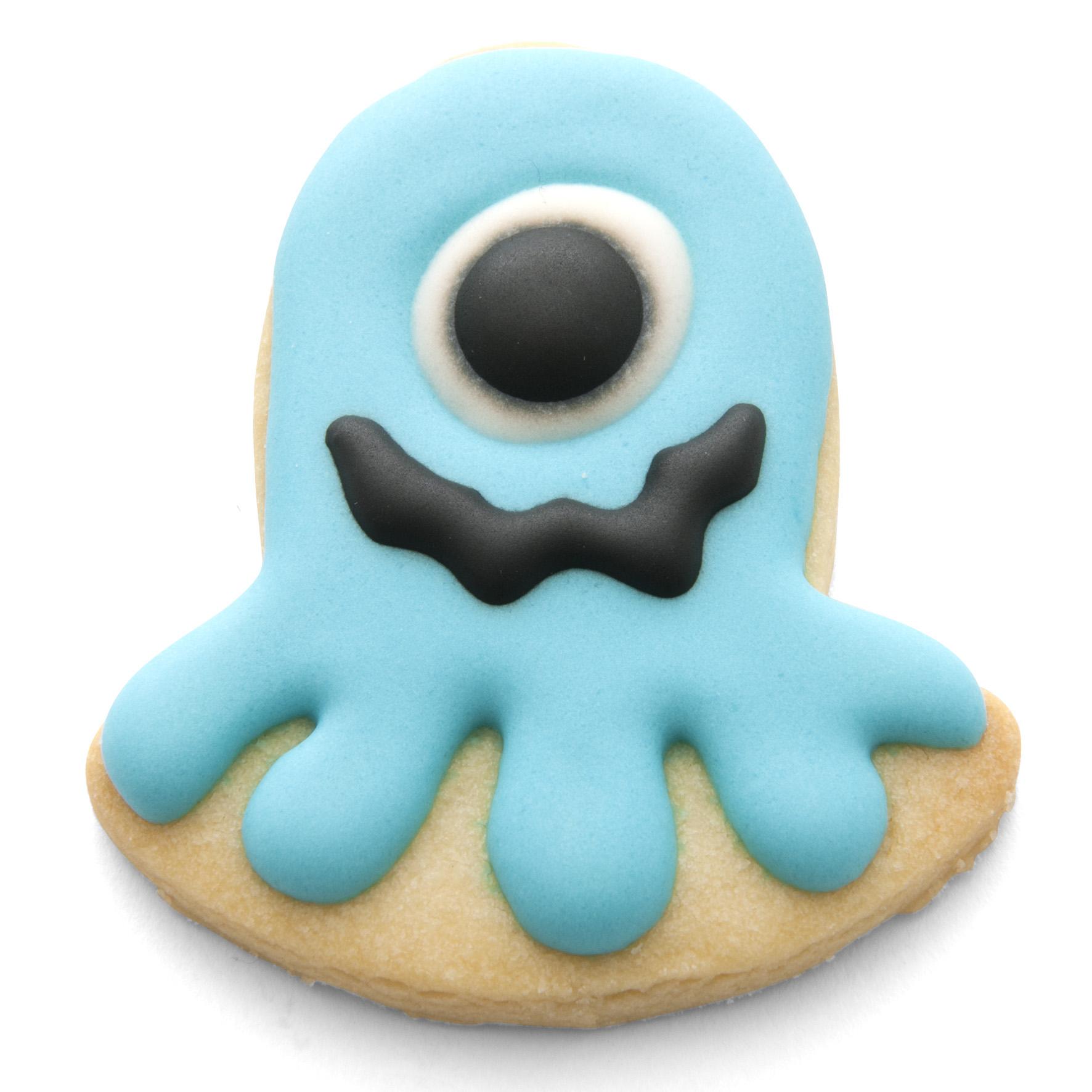 Set Of 4 Planet Alien Small Cookie Cutter Set Cuttercraft