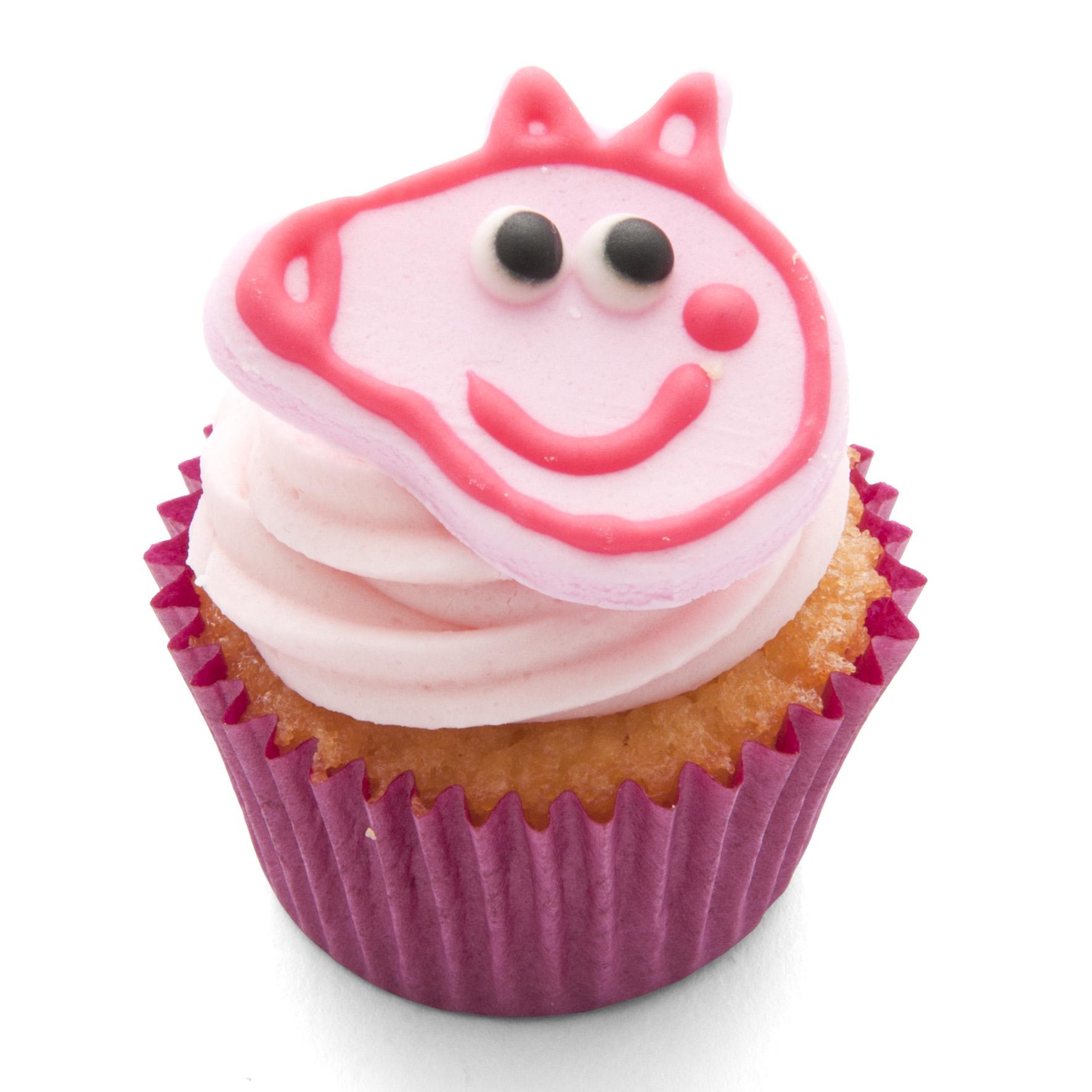 Pig Face Mini Cupcake Peppa Cookie Cutter Handmade