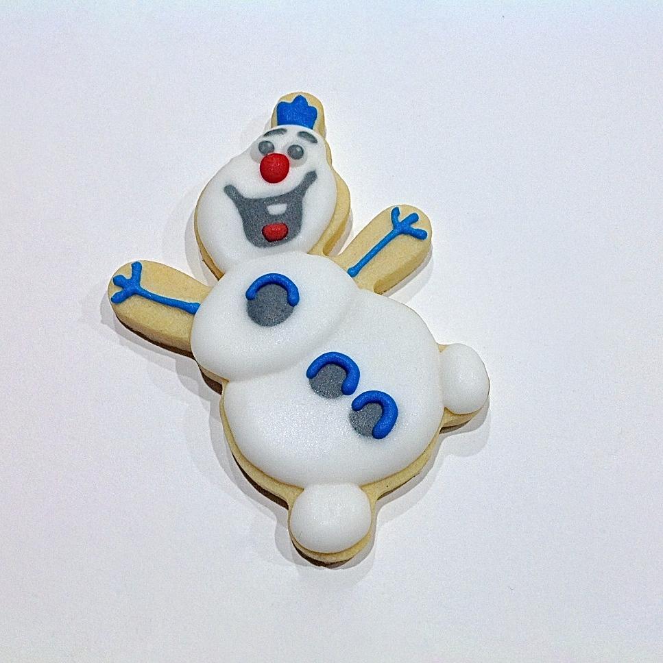 Snowman Olaf Cookie Cutter Handmade Cuttercraft