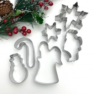 ss489 Cookie Cutter Christmas Set of 6 SS